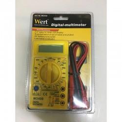 Dijital Multimetre Elektrik Ölçü Aleti (Wert W2450)