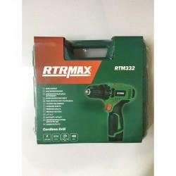 RTRMAX Kaliteli Şarjlı El Matkapı 12 Volt (RTM332)
